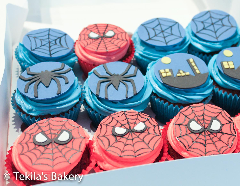 spiderman muffinssit