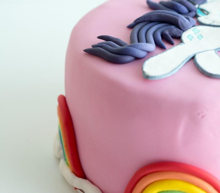 My little pony Rarity kakku