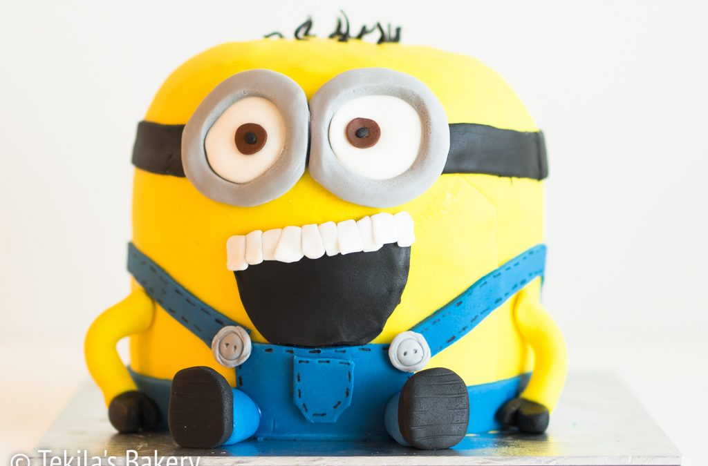 Mini Minion kakku