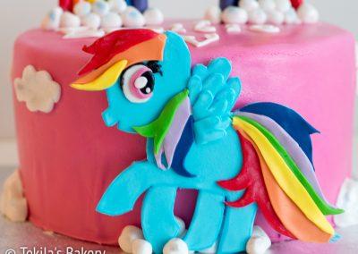 rainbow poney kakku-2