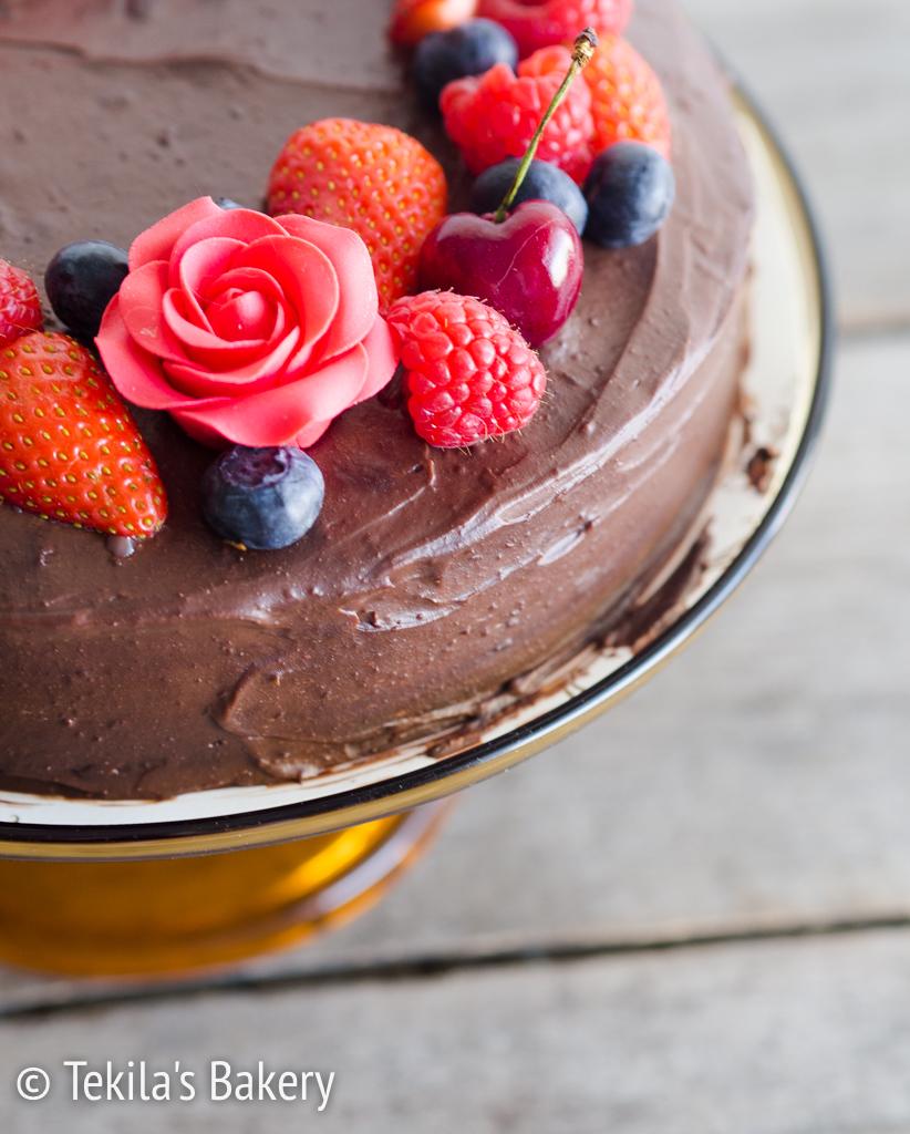 Velvet Chocolate cake – samettinen suklaakakku