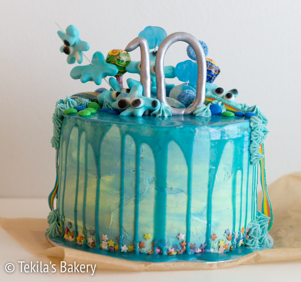 merellinen drip cake