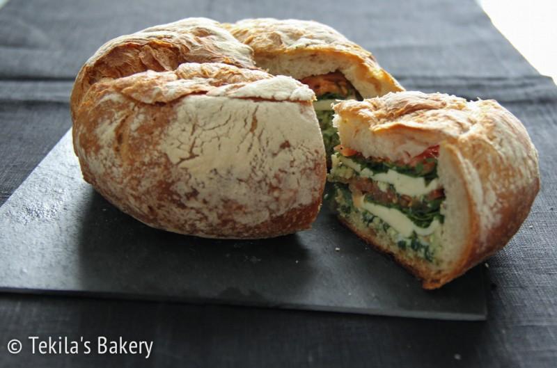 täytetty maalaisleipä-4
