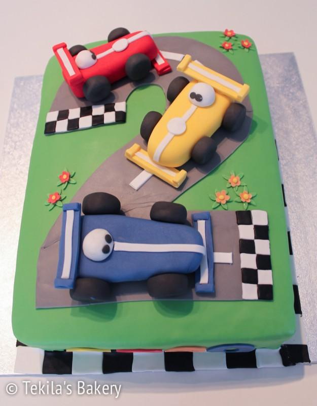 Formula 1 täytekakku