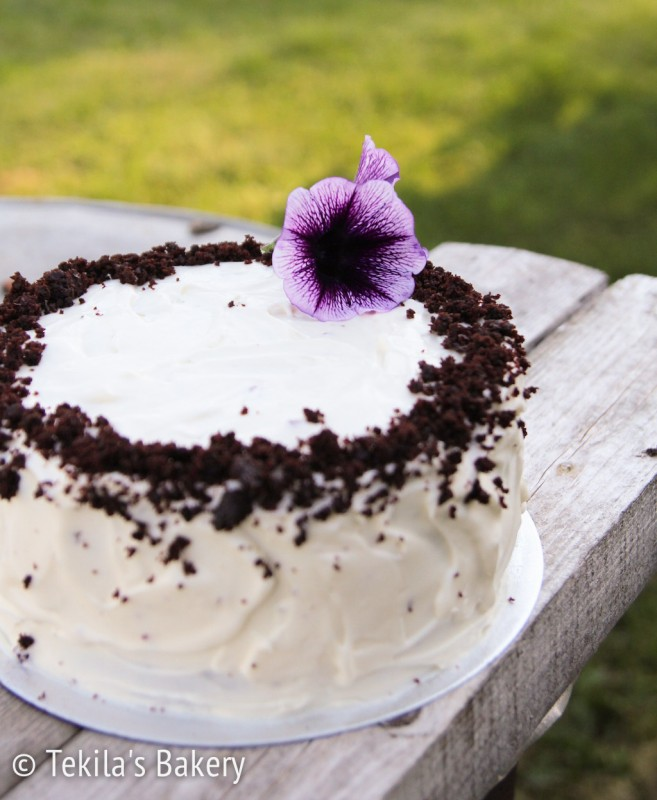 punajuuri red velvet cake