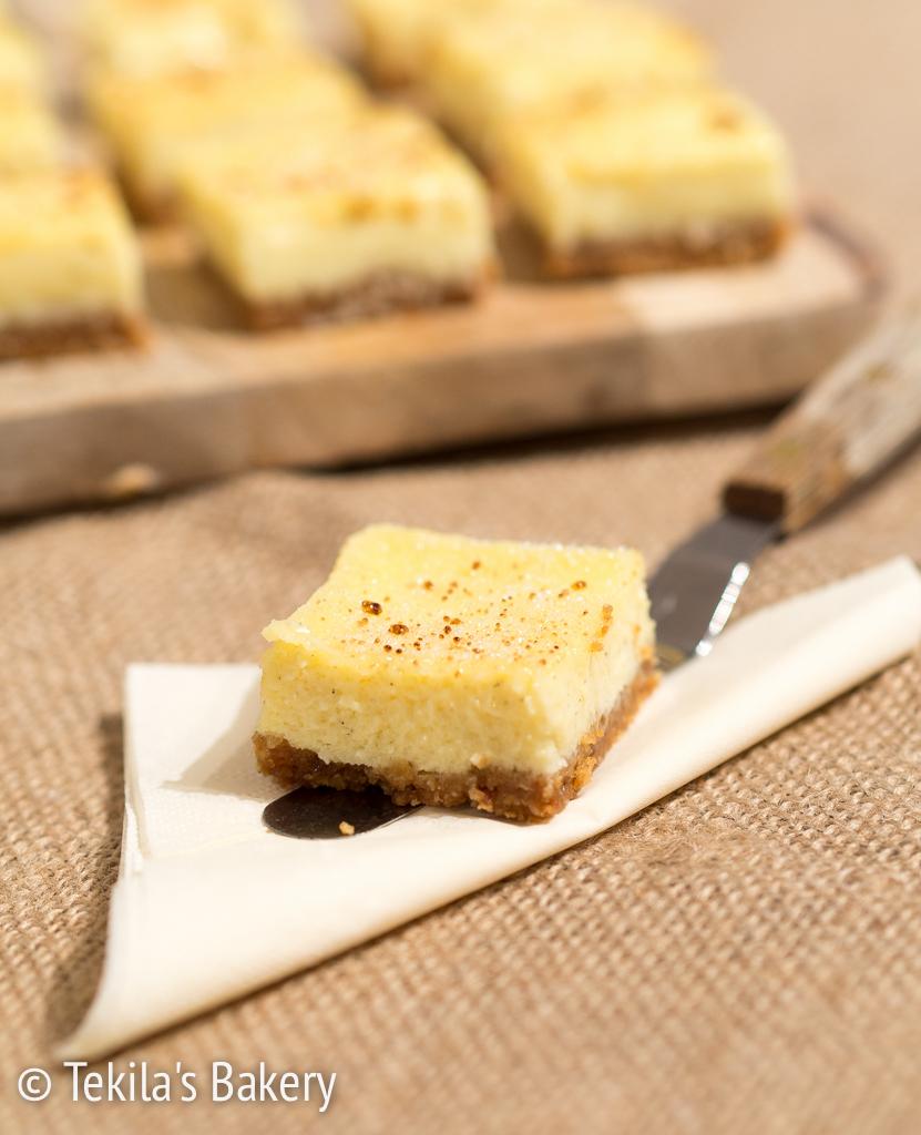 Creme Brulee juustokakku