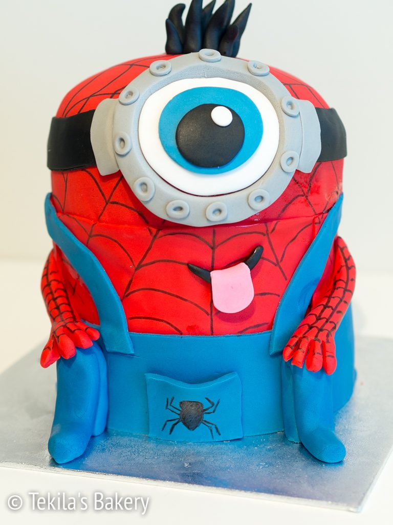 spiderman minion kakku