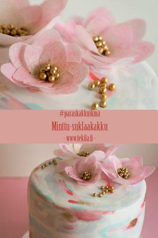 minttu-suklaakakku