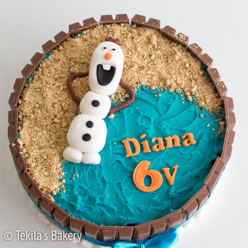 frozen-olaf-kitkat-kakku-2