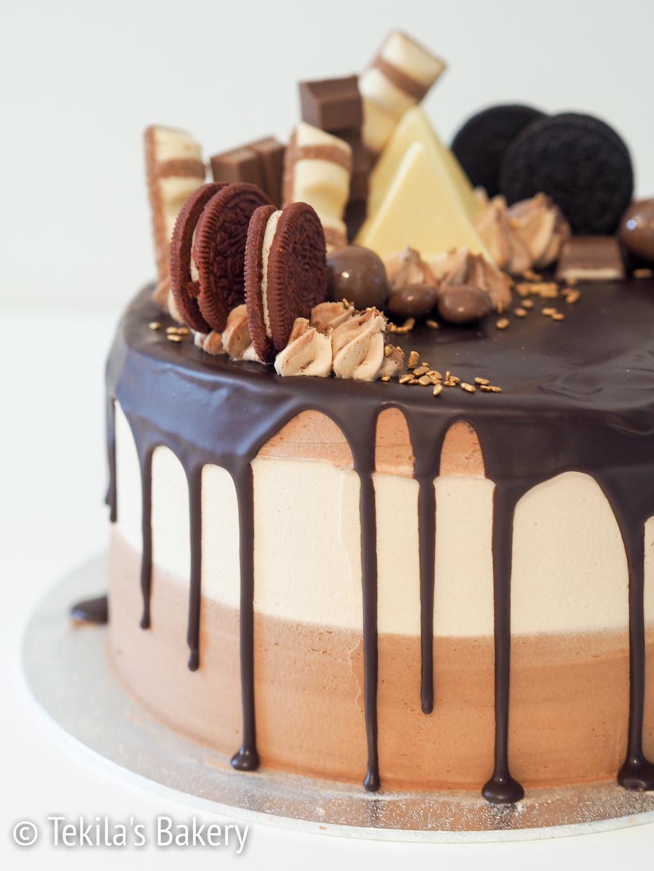 suklaaholistin drip cake-5
