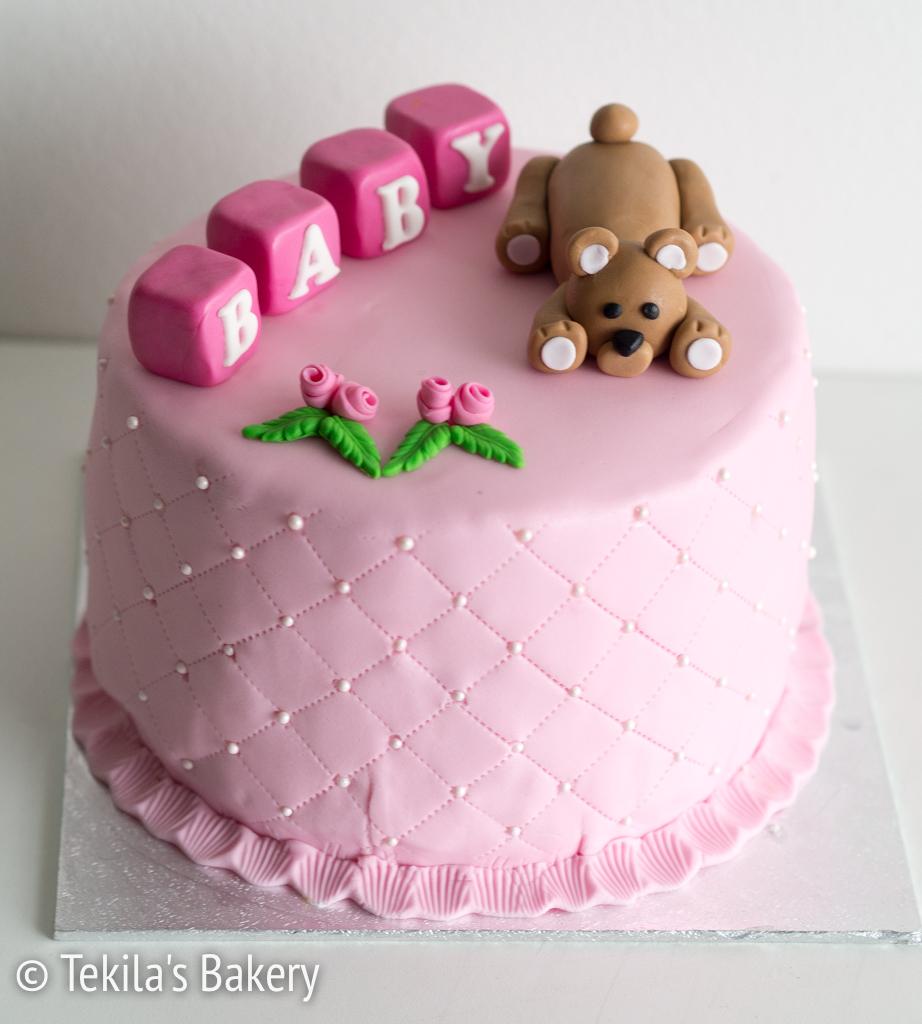 maidoton baby shower kakku