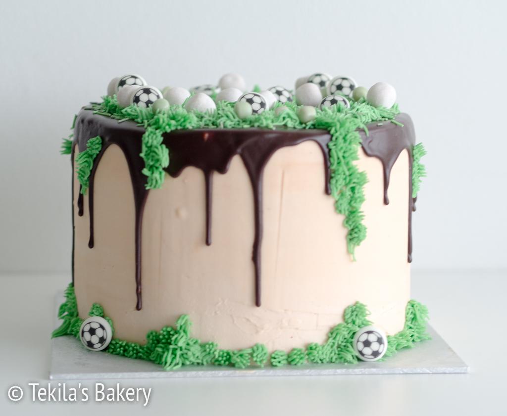 jalkapallo dripcake